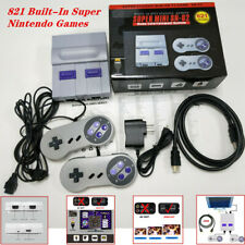 Classic Console SNES With HDMI Output - 821 Built-In Super Nintendo Games Kit