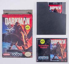 Darkman Nintendo NES Complete CIB Cart Box Manual Ocean 1991