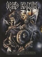 ICED EARTH - LIVE IN ANCIENT KOURION (LIMITED EDITION) BLU-RAY  + DVD+ 2 CD NEW+
