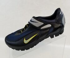 Nike Pedali Cycling Combo Blue Black Lace Up Mens Shoes Size EU 40 US 7