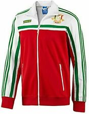 X LARGE adidas Originals Men's MEXICO Firebird Track Top Jacket  White Green Red
