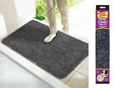 NEW Super Absorbent Doormat Magic Step Door Mat NON SLIP Indoor Caravan BLACK