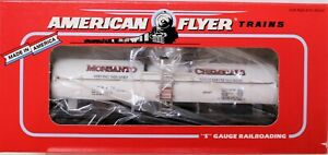 American Flyer 6-48495 S Scale Monsanto Single Dome Tank Car 20th S-Fest 1995