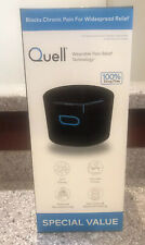 Quell Wearable Pain Relief Technology Special Bonus Travel Bag 2 Sports Band NIB