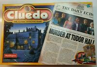 Cluedo The Classic Detective Game-Murder at Tudor Hall | Vintage Board Game