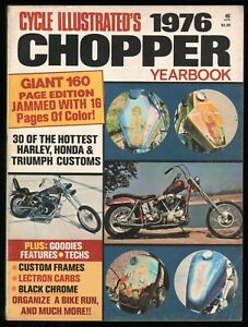 1976 Cycle Illustrated Chopper Yearbook - Vintage Motorcycle Magazine