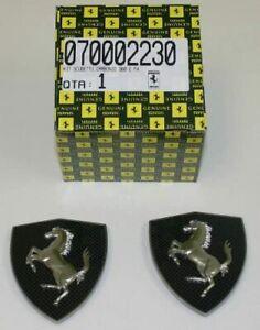 OEM Ferrari Carbon Fender Shields Kit Ferrari 360 and F430 70002230