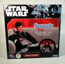 "Star Wars Snuggie for Kids Darth Vader Blanket w/Sleeves Disney 54"" x 42"" Inch"