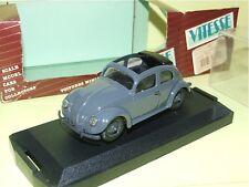 VW COCCINELLE Avec Toit Ouvrant 1949 Gris VITESSE 401