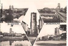 saint-astier carte postale souvenir ...............dordogne 24
