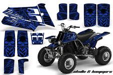 ATV Graphics Kit Quad Decal Sticker Wrap For Yamaha Banshee 350 87-05 HISH BLUE