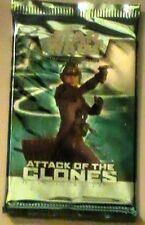 Two Star Wars Attack of the Clones Booster Packs CCG