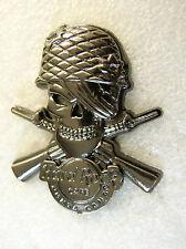 PUNTA CANA,Hard Rock Cafe Pin,SILVER SKULL SOLDIER