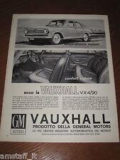 AG13=1963=VAUXHALL VX4/90=PUBBLICITA'=ADVERTISING=WERBUNG=