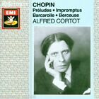 Chopin: Préludes, Impromptus, Barcarolle, Berceuse / Alfred Cortot - CD