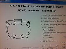 Suzuki RM250   Cylinder Base Gasket 1982 1983 1984 1985