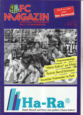 BL 92/93 1. FC Saarbrücken - Borussia Dortmund, 31.10.1992
