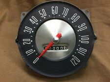 1956 Ford car restored original speedometer, odometer & needle 1957 Thunderbird