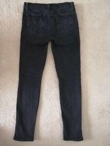 J Brand Black Skinny Leg Jeans Vanity Style 8111524 Size W26/L27