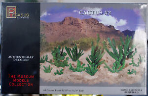 Pegasus 6508 Kakteen Kaktus Cactus # 2 60 Stück Sukkulenten Wüste Desert