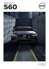 2020 MY Volvo S60 07 / 2019 brochure catalogue Pologne Poland
