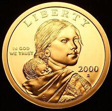 2000 S Native American Sacagawea Dollar Gem Deep Cameo PROOF US Mint Coin