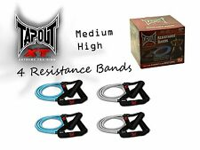 TapouT XT [PACK OF 4] Resistance Bands + WARRANTY✓ Yoga✓ Pilates✓ ABS✓ Fitness✓