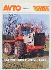 prospectus brochure tracteur avto belarus 1507 articulé tractor traktor prospekt