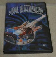 Joe Satriani - Live In San Francisco (DVD, 2002, 2-Disc Set)