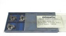 3 INDEXABLE INSERTS zirkularfräsen HM PL P25 r-einst A=6,5 12° Von Mimatic