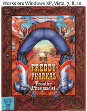 Freddy Pharkas Frontier Pharmacist PC Game 1993 Windows XP Vista 7 8 10