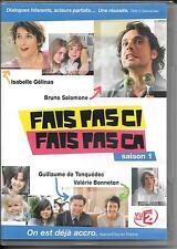 COFFRET 3 DVD ZONE 2--FAIS PAS CI FAIS PAS CA - INTEGRALE SAISON 1