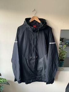 Nike Air Max Black Tracksuit Jacket Size XXL   Coat Retro Sports Vtg 90s 80s 2XL