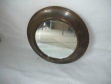 Specchio Specchiera da parete cornice in ottone brunito