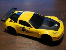Scalextric Car DIGITAL Corvette C6R Yellow with Lights