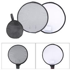Round Flash 30cm  Diffuser Softbox with Grey Balance Card For Neewer Speedligh