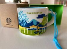 Starbucks You Are Here Kazakhstan 2021 Ornament Mug 2 OZ, newest
