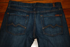 Seven 7 for All Mankind Original Bootcut Nouveau New York Dark Denim Jeans (27)