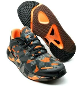 Adidas Alphatorsion Bounce Orange / Grey Camo Running Shoes [FW9269] Multi Size