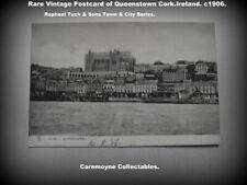 Rare Vintage Tuck Postcard of Queenstown Cork Ireland.c1906. AH7805.
