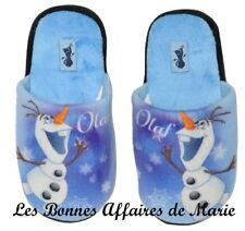 DISNEY - LIQUIDATION - La Reine des Neiges Pantoufles bleues Olaf 25/26 - Neuves