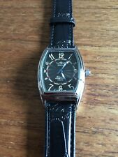 Mens New WINNER Automatic Self Winding Tonneau Shaped SS Watch W579