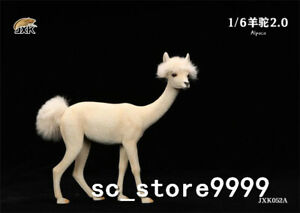JXK 1/6 JXK052A Alpaca 2.0 Resin Animal Statue Model Scene Toy Display Model