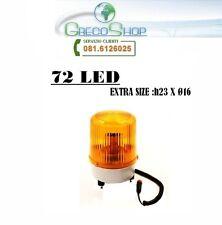 Lampeggiante emergenza 72 Led 12V arancio - Mod. Jumbo