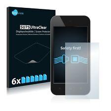 6x Savvies® SU75 Displayschutzfolie für Standardgrößen mit 2.8 Zoll Displays