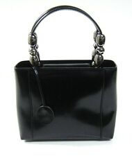 Christian Dior Malice Black Leather Small Tote Bag