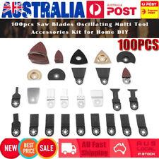 100PCS Oscillating Multi Tool Saw Blades Accessories Kit For FEIN BOSCH MAKITA