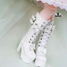 1/4 BJD Boots MSD Shoes Supper Dollfie Boots Dollmore Luts AOD DZ High heels 124