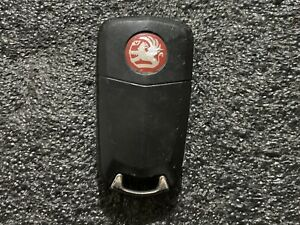 VAUXHALL OPEL CORSA ASTRA VECTRA INSIGNIA 2 BUTTON FLIP REMOTE KEY FOB Used