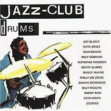 Jazz-club-Drums (1989, Verve) Art Blakey, Elvin Jones, Max Roach, Bill [CD ALBUM]